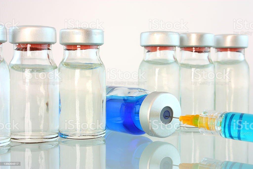 Medical bottles royalty-free stock photo