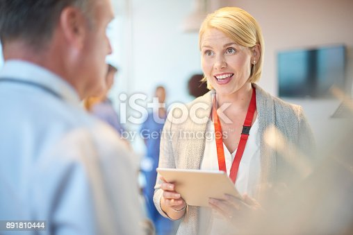 istock medical business chat 891810444