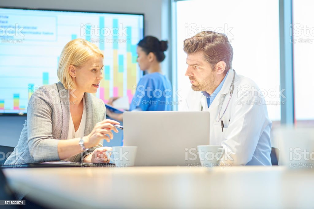 medical business collaboration stock photo