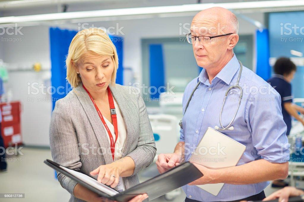 Medizinische business Geschäftsbeziehung – Foto