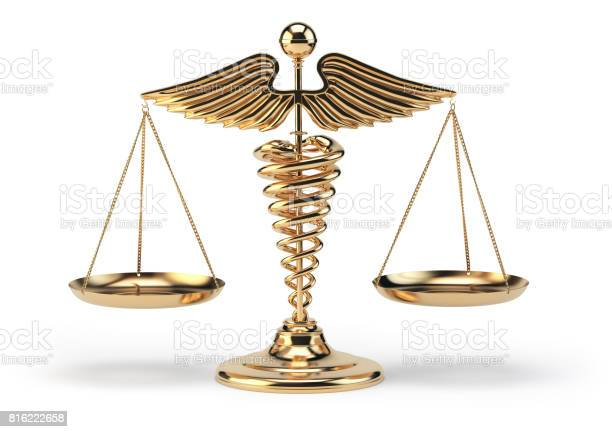 Medical caduceus symbol as scales concept of medicine and justice picture id816222658?b=1&k=6&m=816222658&s=612x612&h=m 63ksd1dxalwryigutex4ebpwz9nopgrx3dtfplyee=