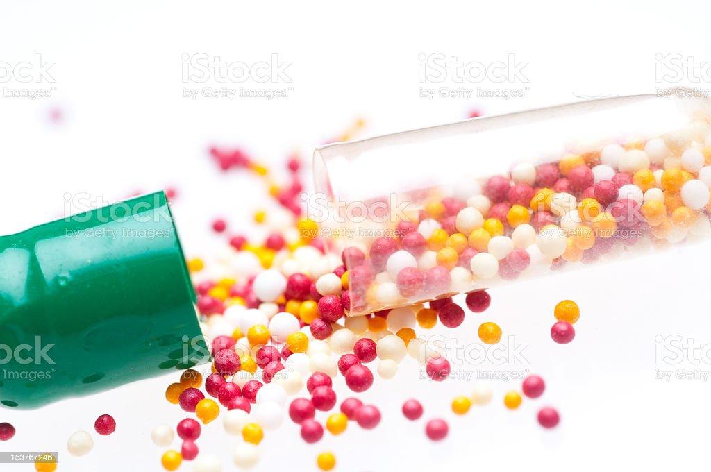 medical capsules royalty-free stock photo
