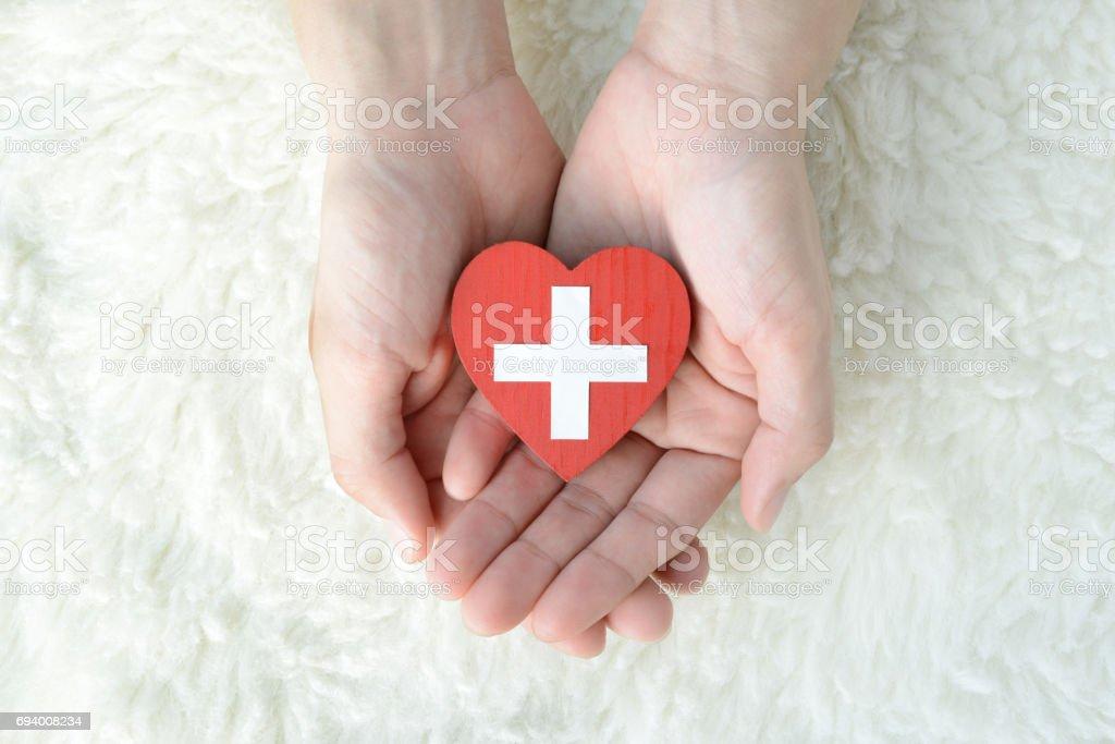Concepts médicaux de soins et de donateurs - Photo