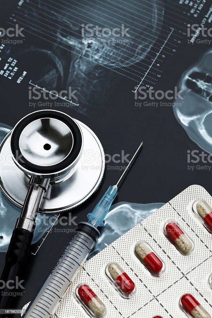Medical care. stock photo