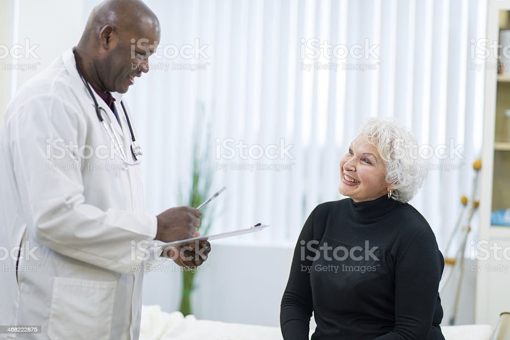 Medical care royalty-free stock photo