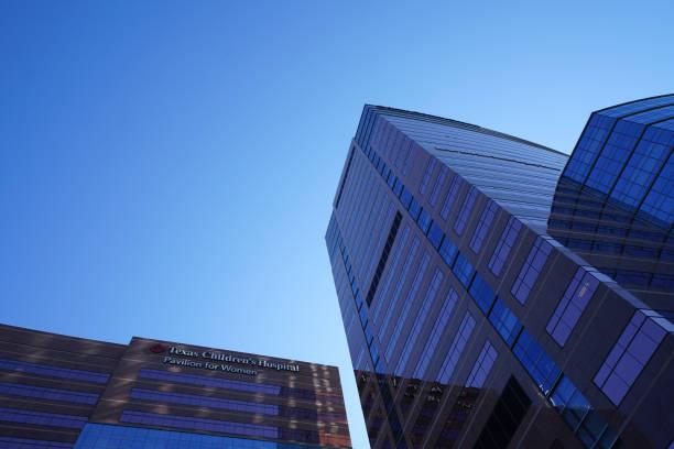 Medical Center in Houston - COVID-19 stock photo