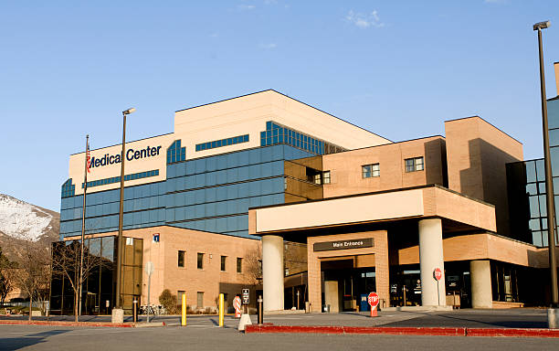 medical center - building exterior stock photos and pictures