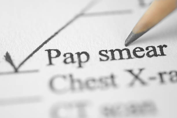 medical chart-pap smear  pap smear stock pictures, royalty-free photos & images