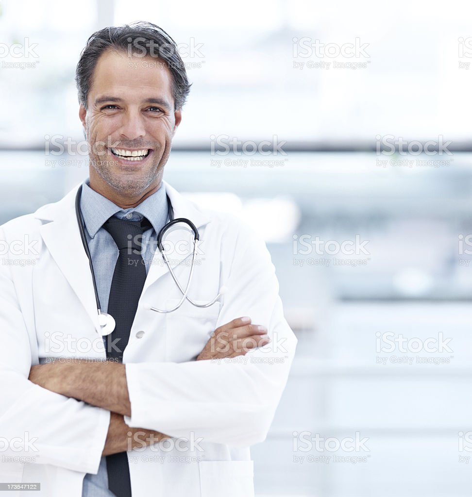 Medical check-ups don't need to be a pain! royalty-free stock photo