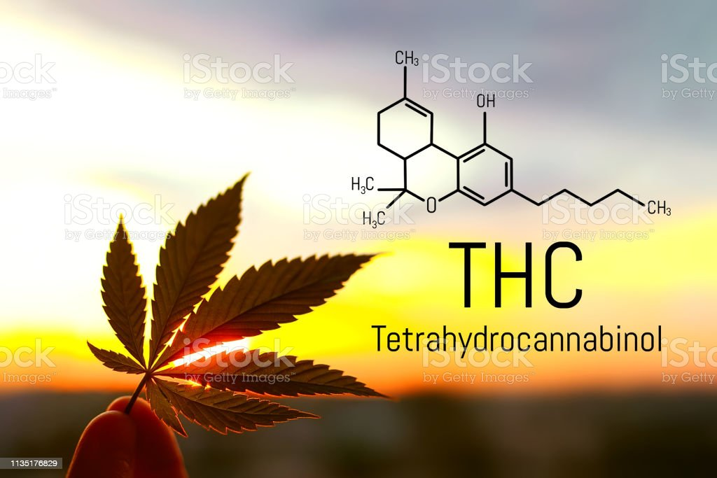 Medical Chemical Formula Hemp Thc Molecular Structure
