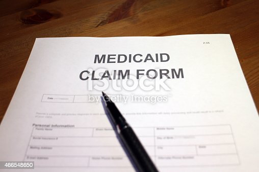 1128824554 istock photo Medical Claim Form Top-view 466548650