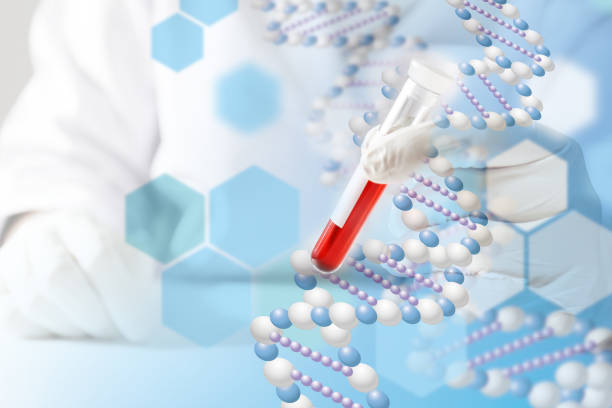Medical concept image, Blood test stock photo