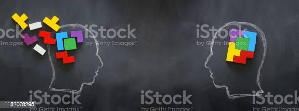 Medical concept of brain made from wooden puzzle into human head idea picture id1182078295?b=1&k=6&m=1182078295&s=612x612&h=7 j7ss mb7q awiaq75uu4gnkmyn7qum0lyqd1lp83k=