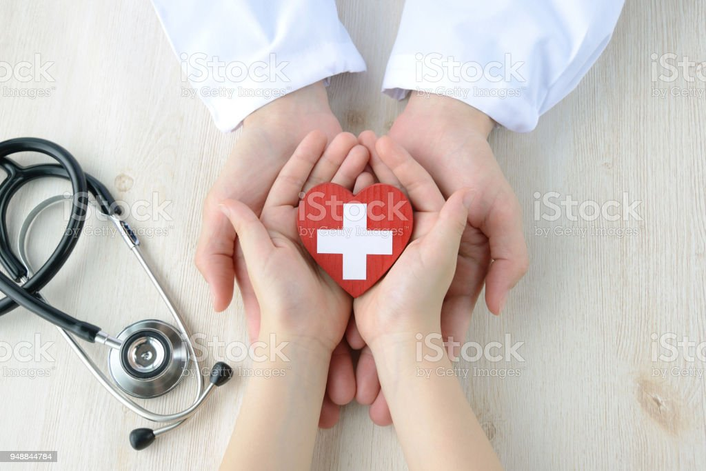 Medical concepts, safe support stock photo