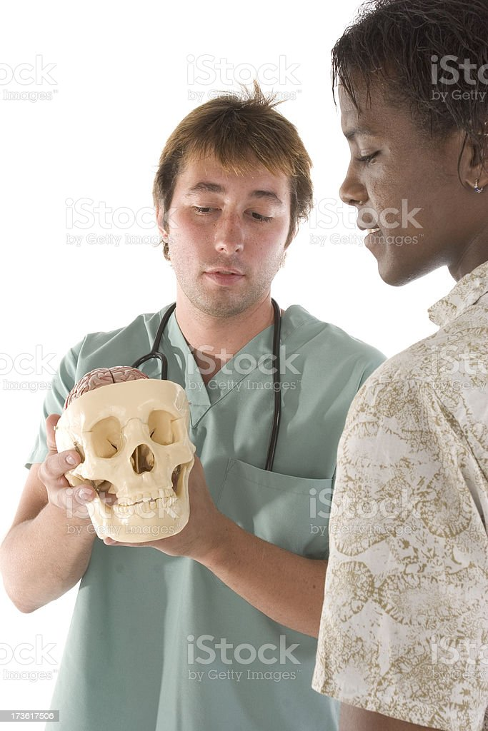 Medical consult royalty-free stock photo