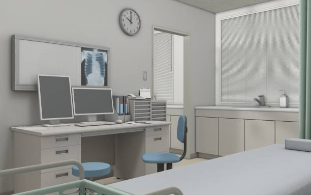 medical consultation room - doctors office stock pictures, royalty-free photos & images