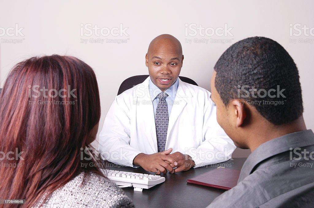 Medical Conversation stock photo