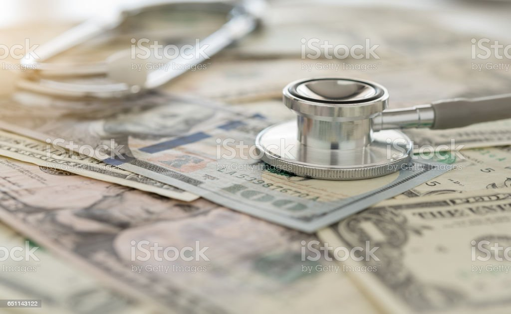 medical cost stock photo