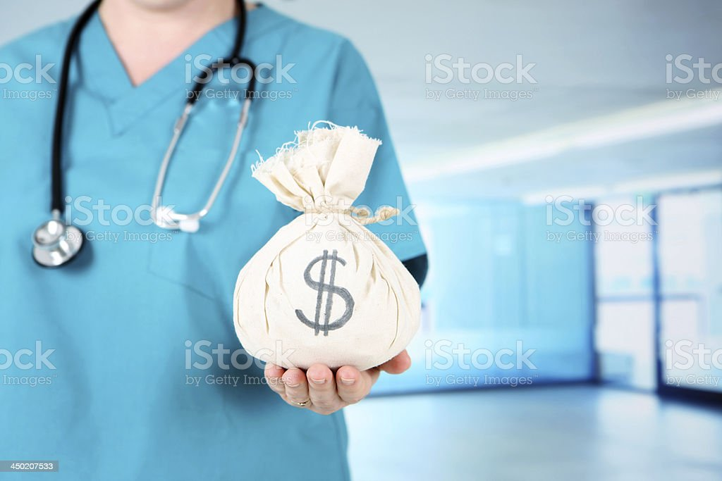Medical Costs stock photo