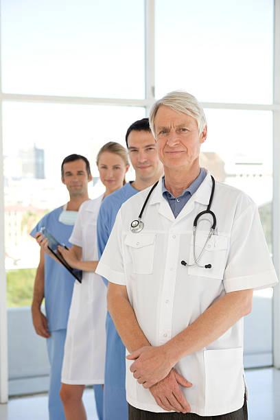 Medical crew stock photo