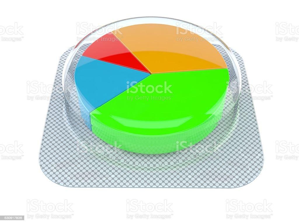 Medical data stock photo