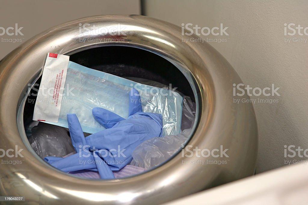 Medical Disposal royalty-free stock photo