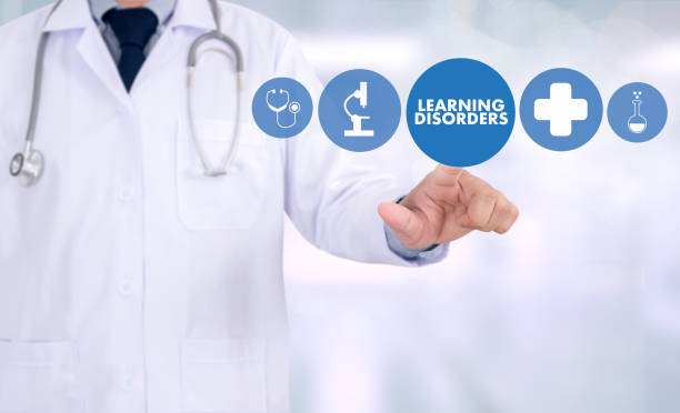 LEARNING DISORDERS ADHD medical Doctor concept stock photo
