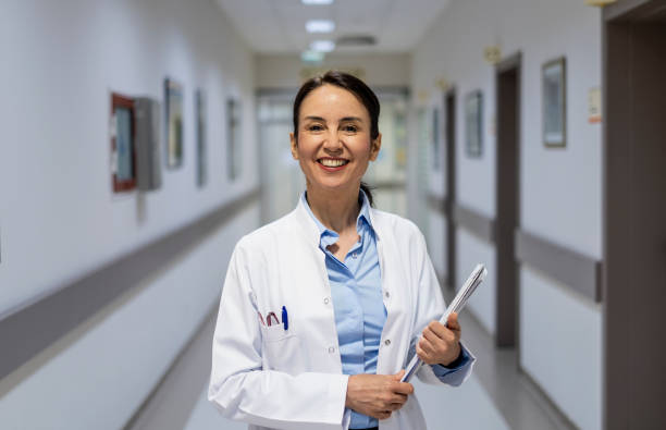 Medical Doctor Indoors Portraits stock photo