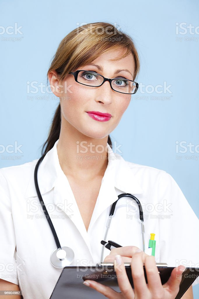 Medical doctor nurse royalty-free stock photo