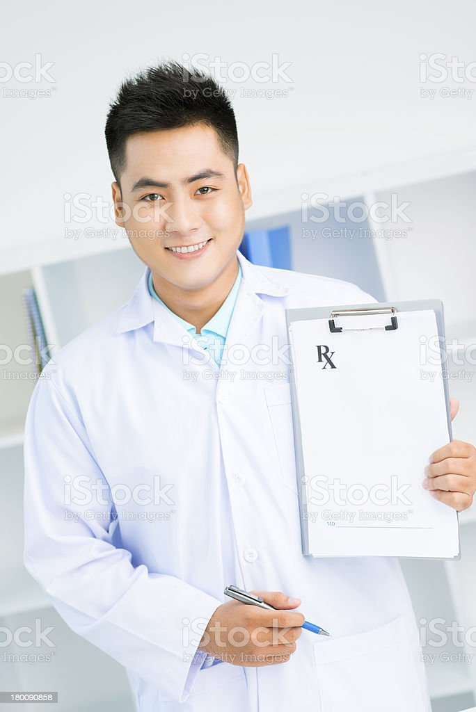 Medical document royalty-free stock photo
