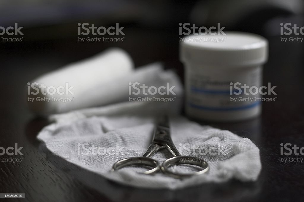 Medical Dressing royalty-free stock photo