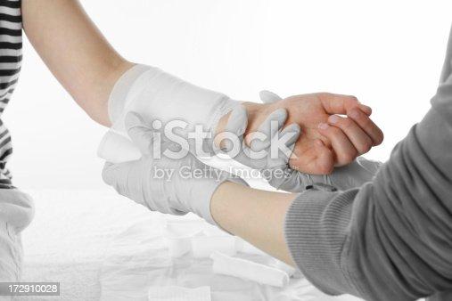 nurse attending patient, similar images: