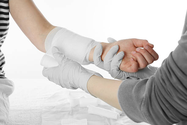 medical dressing - medical dressing stock pictures, royalty-free photos & images