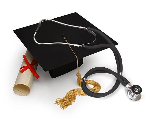medical education stock photo