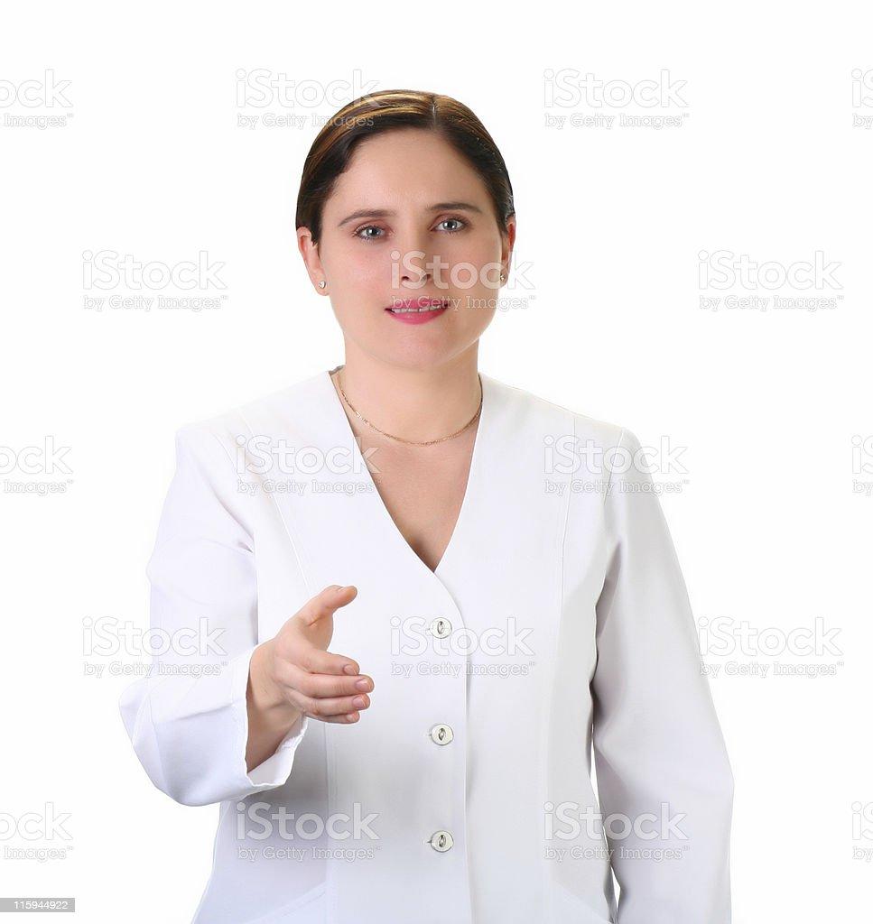 medical employee royalty-free stock photo