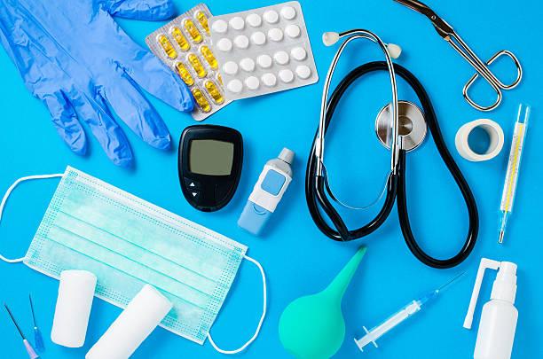 medical equipment background - sjukvårdsrelaterat material bildbanksfoton och bilder