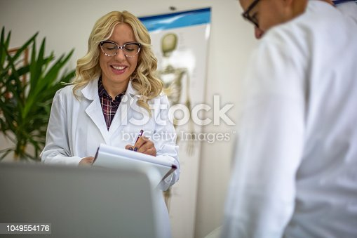 istock Medical exam 1049554176