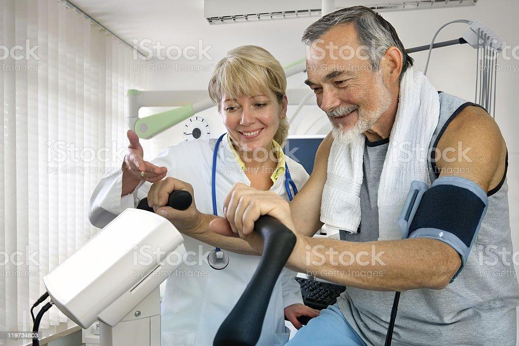 Medical exam royalty-free stock photo