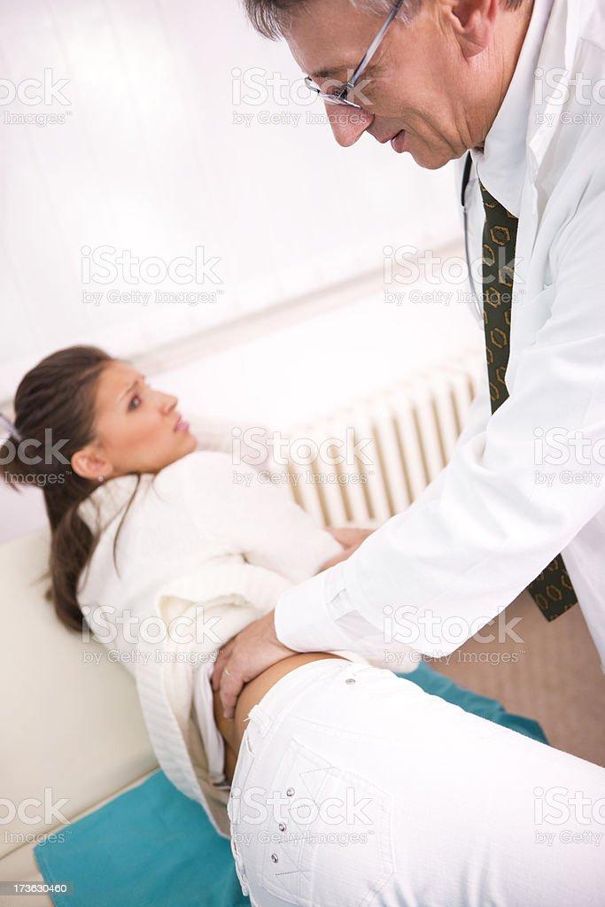 Medical exam  XXL royalty-free stock photo