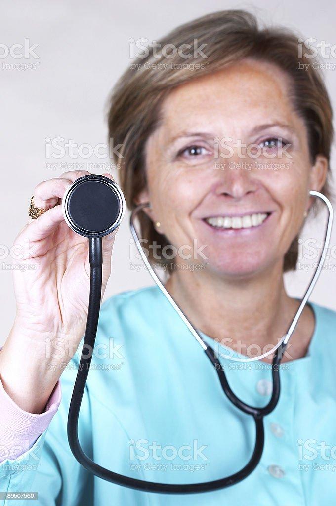 Examen médical photo libre de droits