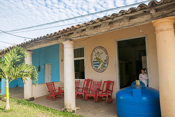 Medizinischen Einrichtung im Pinar del rio von Vinales Kuba – Foto