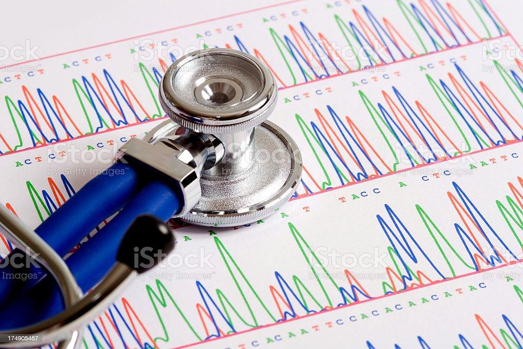 Medical genetics royalty-free stock photo