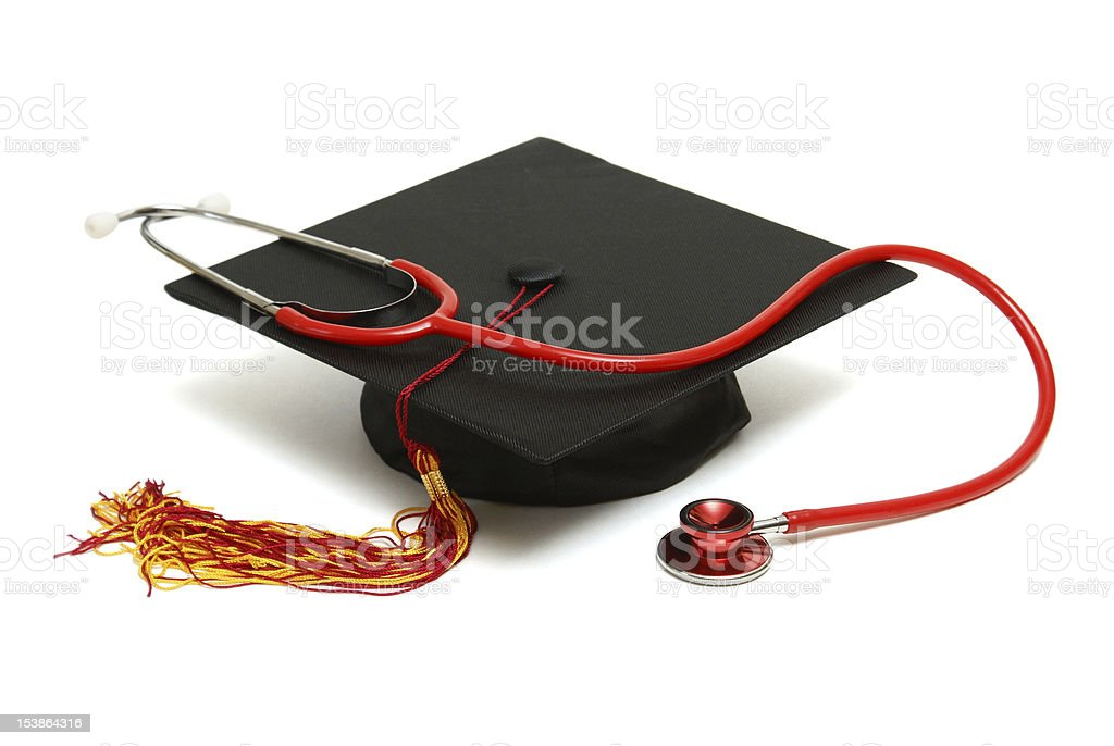 Medical Graduate royalty-free stock photo