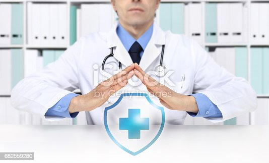 917079152istockphoto medical health insurance concept, cross symbol 682559280