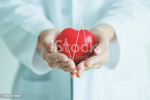 istock Medical heart cardiology concept 1147121042