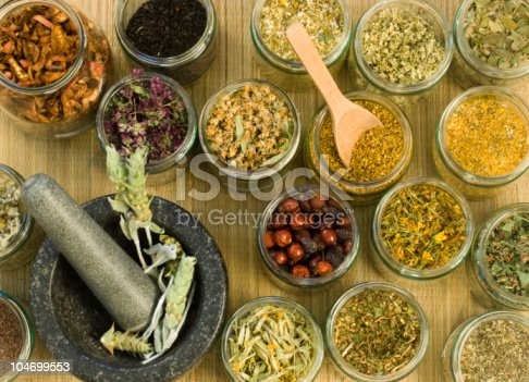 istock Medical Herbs 104699553