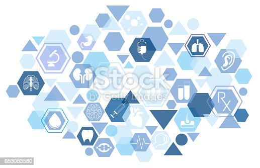 istock Medical icons 653083580