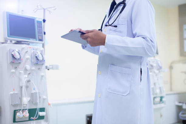 medical industry concept. - double exposure стоковые фото и изображения