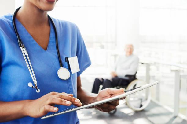 Medizinische Informationen mit dem Fingertipp – Foto