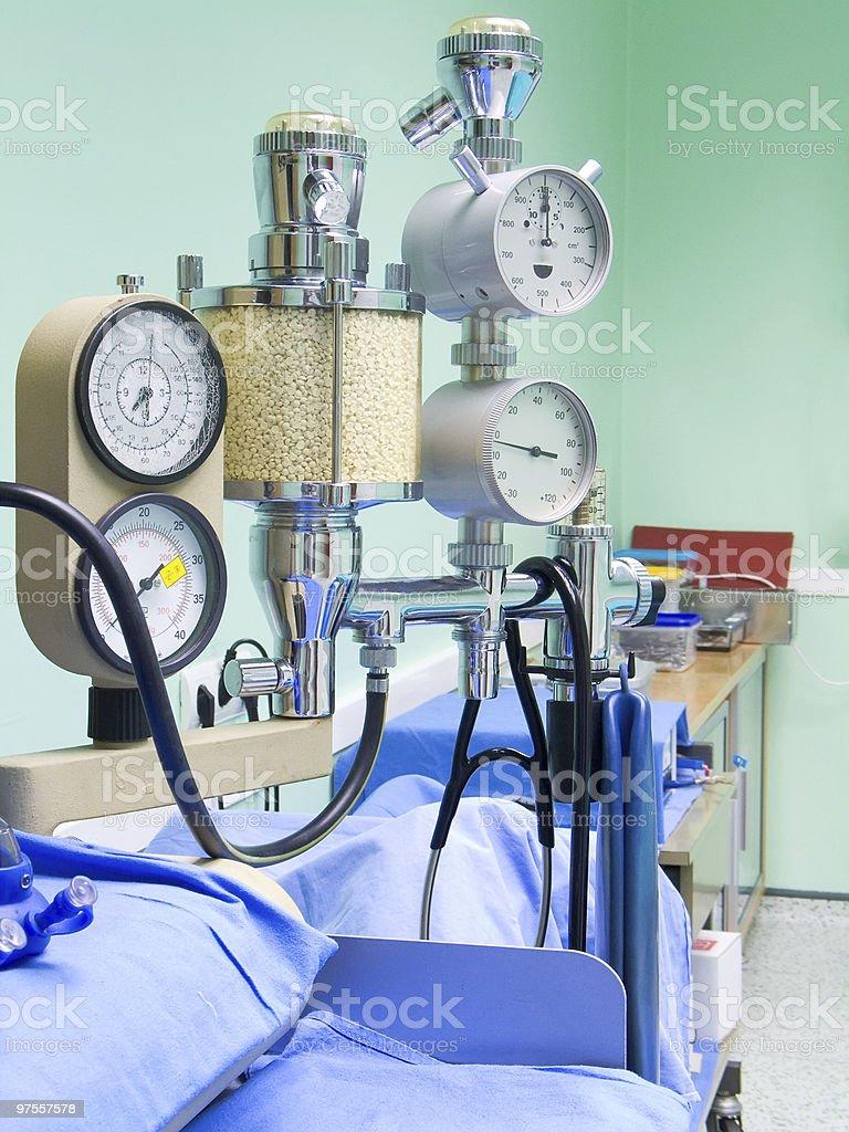 Medical instruments royalty-free stock photo